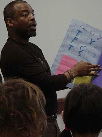 LeVar Burton - Burton at the Schlow Centre Region Library, January 29, 2007