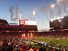 cce73d1e4 Levi s Stadium during a 49ers game