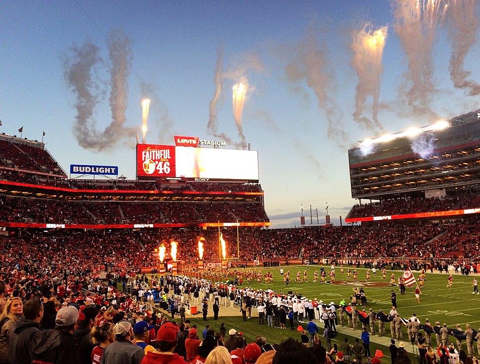 Levi's Stadium 49ers home game