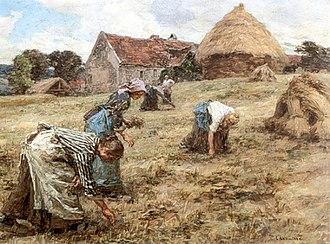 Gleaning - The Gleaners (Léon Augustin Lhermitte, 1898)