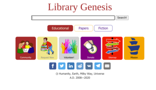 Library Genesis File-sharing website for print publications