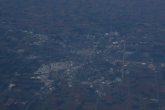 Lima, Ohio - Air photo of Lima, September 2018