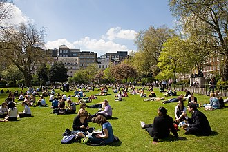 Lincoln's Inn Fields - Lincoln's Inn Fields in Spring 2006