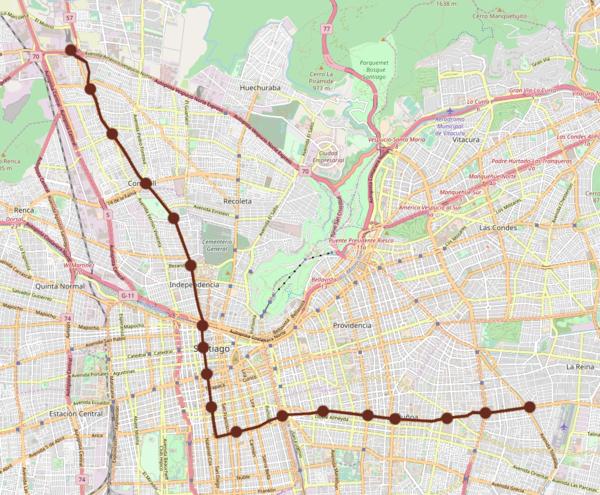 Linea 3 Del Metro De Santiago Wikiwand