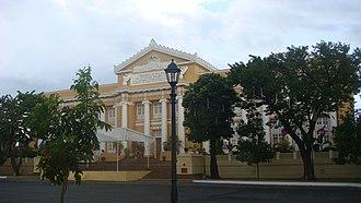 Lingayen - Capitol Building (Poblacion)