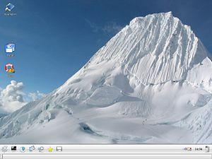 Linux Mint version history - Image: Linux Mint 1.0 Ada