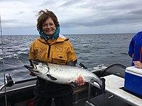 Lisa Murkowski with salmon.jpg
