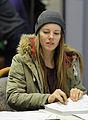 Lisa Zimmermann bei der Olympia-Einkleidung Erding 2014 (Martin Rulsch) 03.jpg