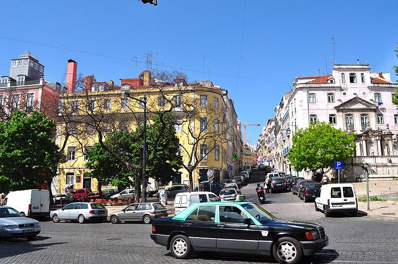 Aplicativos de veículos em Lisboa