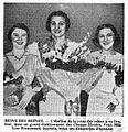 Lise Brousseaud 1934 et ses demoiselles d'honneur - L'Intransigeant - 6 mars 1934.jpg