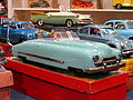 Litho tin toy blue american car pic2.JPG