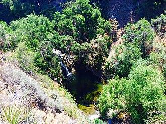 Wildwood Regional Park - Image: Little Falls Wildwood Regional Park Thousand Oaks CA