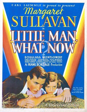 Little Man, What Now? (1934 film) - Film poster