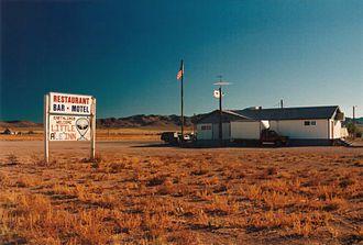 Rachel, Nevada - Image: Little A'Le'Inn Rachel NV 2
