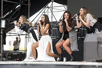 Little Mix - Image: Little Mix at the Gibraltar Music Festival, 2015