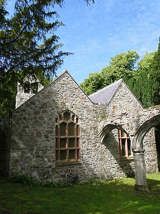 Old Church of St Nidan, Llanidan - Image: Llanidan Old Church