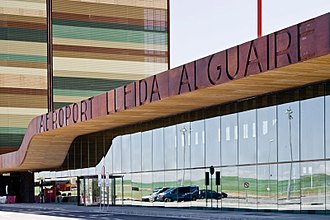 Lleida–Alguaire Airport - Airport Entrance