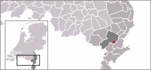 Horn, Netherlands - Image: Locatie Horn