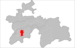 Location of Danghara District in Tajikistan.png