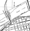 Location of Hannibal Bridge in Kansas City.png