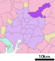 Location of Moriyama ward Nagoya city Aichi prefecture Japan.svg