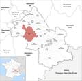 Locator map of Kanton Bièvre 2019.png