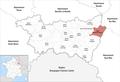 Locator map of Kanton Saint-Dié-des-Vosges-2.png