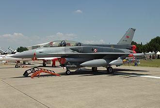 Çiğli - F-16D at Çiğli Air Base