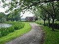 Lodge next to JCB Lake at Rocester - geograph.org.uk - 458836.jpg