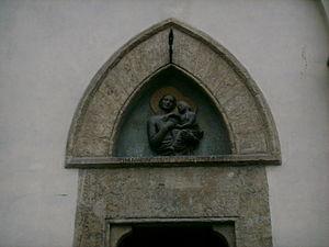 Alberto Arnoldi - Loggia del Bigallo, Florence; sculpture attributed to Alberto Arnoldi