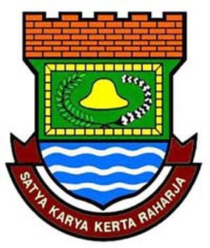 Tangerang Regency - Image: Logo kabupaten tangerang