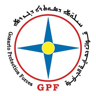 Eagles of the Whirlwind - Image: Logo of the Gozarto Protection Forces