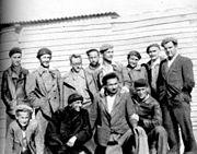 Група Југословенских добровољаца у логору Сан Сепријен у Француској