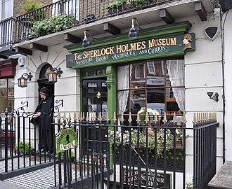 Baker Street - Image: London Sherlock Holmes Museum
