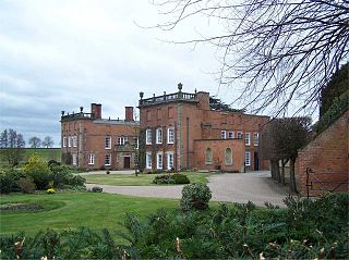 Longford Hall, Derbyshire 16th-century country house at Longford in Derbyshire, England