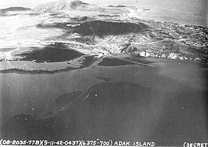 Adak Airport - Adak/Longview AAF, September 1942
