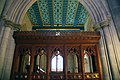 Looking W at wooden partition - War Memorial Chapel - National Cathedral - DC.JPG