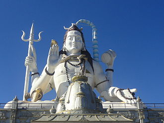 Namchi - This is the statue of Lord Shiva at Siddhesvara Dhaam in Namchi, Sikkim