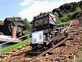 Lore auf einem Bremsberg auf dem Silberberg, Bodenmais.JPG