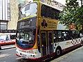 Lothian Buses bus 715 Volvo B7TL Wrightbus Eclipse Gemini SN55 BKY Harlequin livery Route 3 Club Class branding.jpg