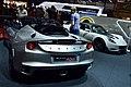 Lotus Evora 400 and Lotus Elise Cup 220 at Geneva International Motor Show 2015 01.jpg