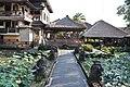 Lotus Pond Ubud - Pura Taman Saraswat (16435701534).jpg
