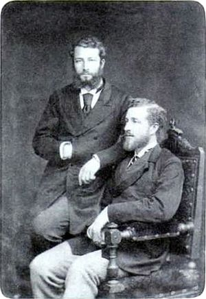 Pierre, Duke of Penthièvre - The Duke of Penthièvre and his cousin Prince Ludwig August