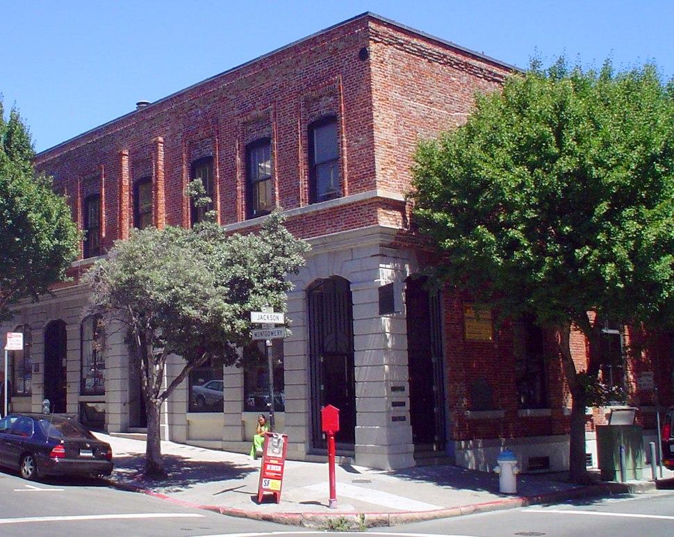 Lucas, Turner & Co. Bank Building, San Francisco, CA (1854-57)
