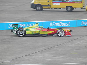 2015 Berlin ePrix - Lucas di Grassi was disqualified for using non-standardised components.