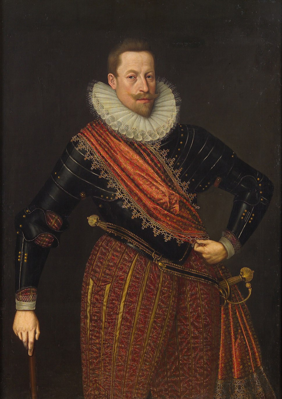Lucas van Valckenborch - Emperor Matthias as Archduke, with baton