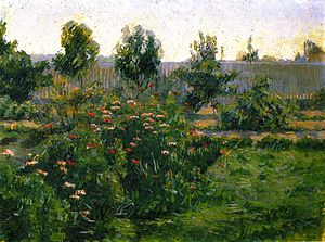 Lucy Bacon - Image: Lucy Bacon, Garden Landscape, 1894 1896, Fine Art Museum of San Francisco