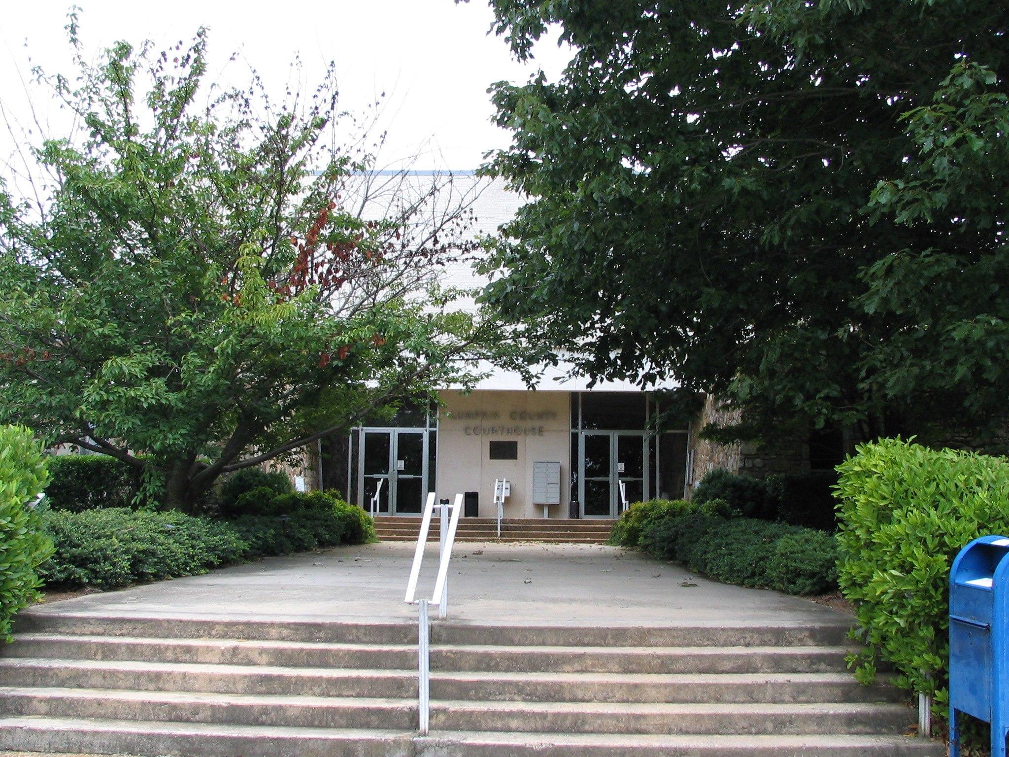 Lumpkin County Georgia Courthouse