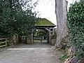 Lych gate, St John's Church, Stokesey - geograph.org.uk - 1581784.jpg