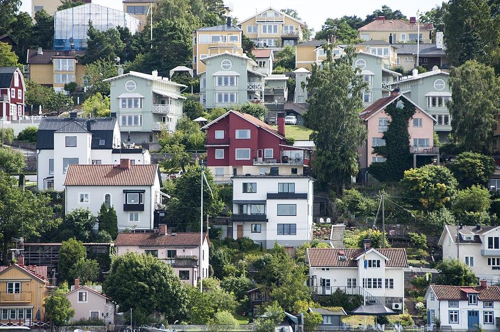 Klubbensborgsvagen Hagersten Stockholms Lan Hagersten